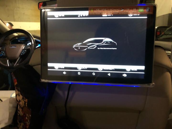 友通 安卓通用汽车后排座娱乐系统 车载头枕显示屏电视 WiFi蓝牙FM导航连接 5号产品:12.5英寸通用型(新款)1台 标配产品+自行安装 晒单图