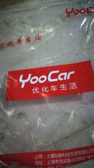 YooCar 汽车方向盘套四季通用把套免手缝透气防滑 纯黑色中号 晒单图