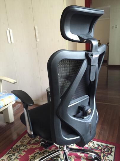 西昊(SIHOO) 人体工学电脑椅子 老板椅 家用座椅转椅 电竞椅 护腰办公椅 M16 弓形脚 晒单图