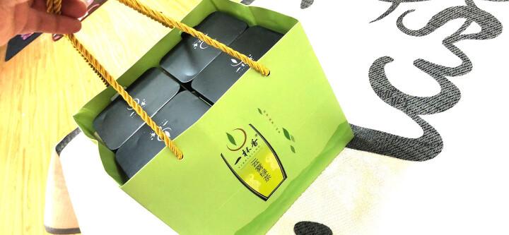 2019新茶云雾绿茶春茶上市4罐共500克一杯香茶叶明前绿茶散装春茶礼盒日照茶茗茶浓香 晒单图