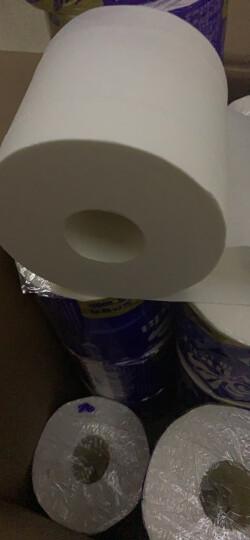 维达(Vinda) 卷纸 蓝色经典4层160g卫生纸巾*27卷 (整箱销售) 晒单图