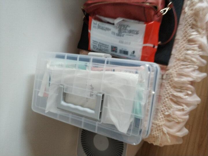 JEKO&JEKO 塑料药盒家庭箱医药箱急救箱药品收纳盒医疗箱家用医药箱小药箱SWB-516 晒单图
