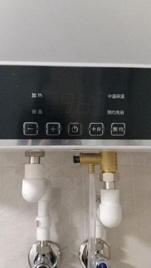美的(Midea)2100W速热电热水器60升 无线遥控 预约洗浴 一键保温 加长防电墙F60-15WB5(Y) 晒单图