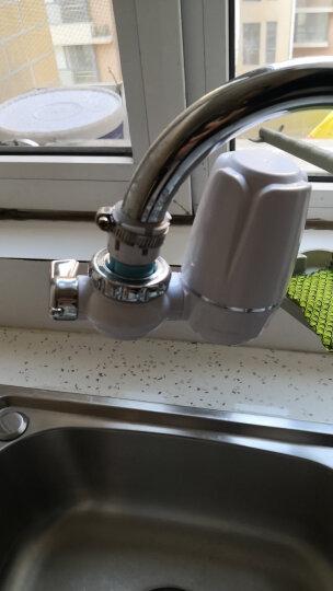 waterplus沃德加家用厨房水龙头净水器龙头0废水直饮矿物质大流量陶瓷滤芯自来水过滤器 一主机九滤芯 晒单图