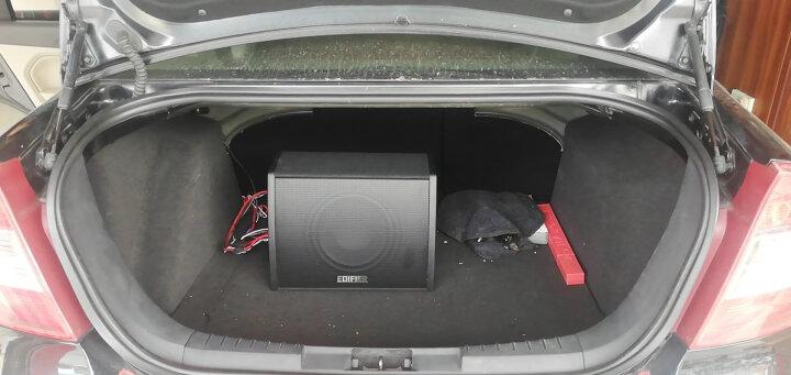 漫步者汽车音响改装 CW1000C 10英寸通用型有源箱体低音炮 后备箱低音炮 无需功放 即插即用 晒单图