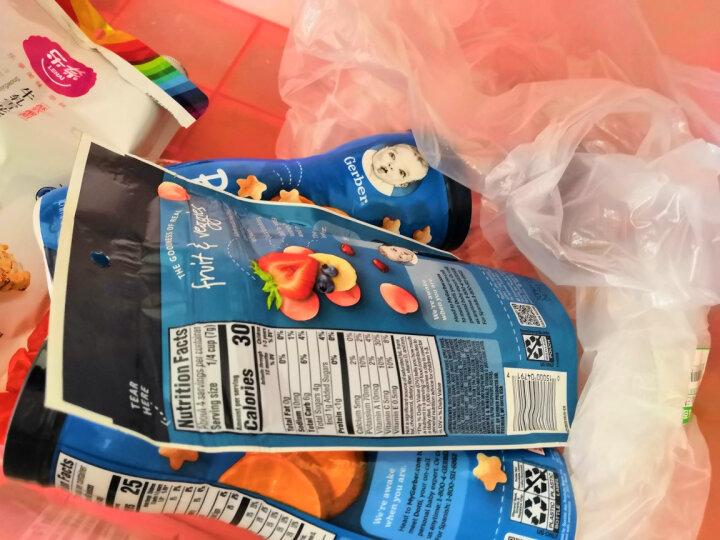 嘉宝Gerber 溶豆宝宝零食 婴幼儿辅食 混合水果溶豆 三段(8个月以上) 28g美国进口 晒单图