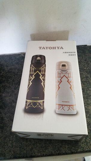 多样屋(TAYOHYA)骑士经典智能显温保温杯  不锈钢保温保冷保热杯 二只装 晒单图