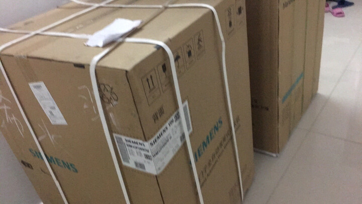 西门子(SIEMENS) 10公斤 变频滚筒洗衣机 降噪节能 快洗15' 防过敏 筒清洁 XQG100-WM12P2692W 晒单图