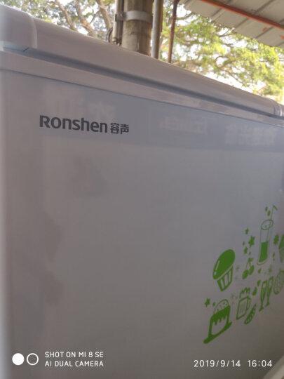 容声(Ronshen) 273升 卧式冰箱 蝶形门 侧掀门 冷藏冷冻双温冰柜 家用商用二合一冷柜 BCD-273KB 晒单图