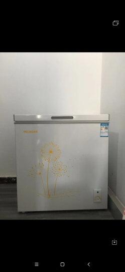 美菱(MELING)142升 家用小型冰柜 冷藏冷冻转换冷柜 一级能效 节能单温卧式小冰箱 BC/BD-142DT 晒单图
