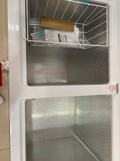 星星(XINGX) 280升 商用卧式冰柜  左冷冻右冷藏 卧式冰箱 顶开门双温双箱冷柜 BCD-280E 晒单图