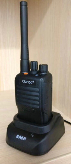 MOTOROLA 摩托罗拉418对讲机 SMP418对讲机无线手持电台 工地酒店民用对讲机手台 Clarigo418标配+备用电池(两电一充) 晒单图