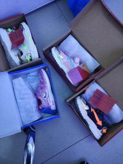 史努比(SNOOPY)女童运动鞋 网面透气跑步鞋 SNQ5255A 银色29码 晒单图