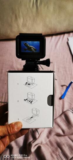 GoPro HERO7/6/5 新款4K60帧运动相机 高清水下潜水摄像机 GoPro6运动相机 标配+旅游套餐 晒单图