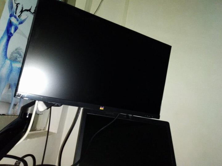 NB F80 液晶电脑显示器支架 桌面架 万向电脑旋转伸缩架 免打孔工作台支架 显示器自营电脑支架 17-27英寸 晒单图