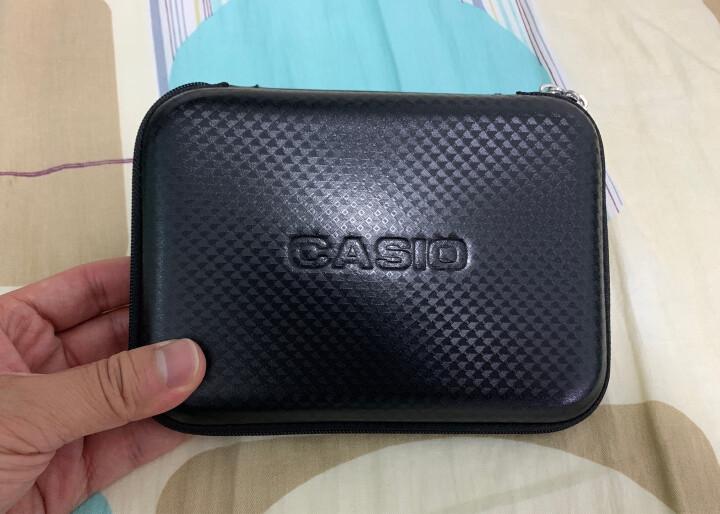 卡西欧(Casio) 卡西欧电子词典原装保护套  辞典保护包 各个系列通用 水墨黑色 晒单图