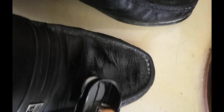 皇宇液体皮鞋油 防水去污补色 上光保养 黑色45ml 晒单图