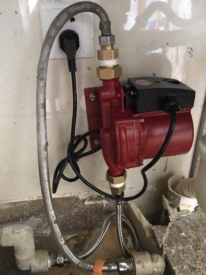 格威特家用全自动增压泵静音热水器加压泵加压器自来水太阳能屏蔽水泵 GW20-12AUTO原厂配置 晒单图