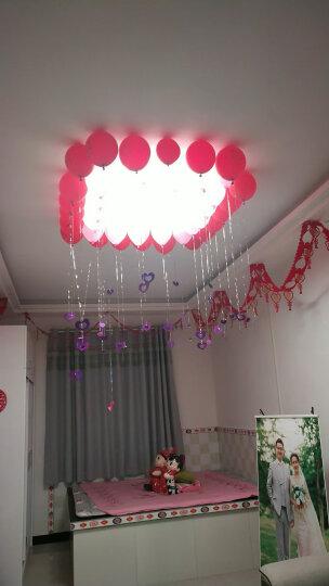 多美忆 创意生日派对用品数字气球拉旗发光皇冠吹龙生日帽拍照道具桌布创意生日蜡烛 公主款 晒单图