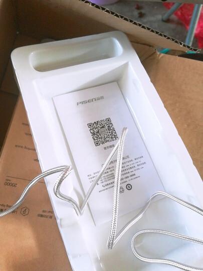 品胜 Micro USB双面安卓数据充电尼龙线 1.5M 银灰色 适用于三星/小米/华为等 晒单图
