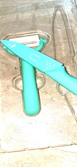 美瓷(MYCERA)陶瓷刀切水果刀具套装两件套 厨房家用全套厨具 刮刨(黑色)TC06B 晒单图