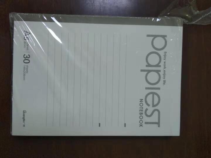 广博(GuangBo)10本装30张A5无线装订本笔记本子/软抄本/办公用品 颜色混装GBR51000 晒单图