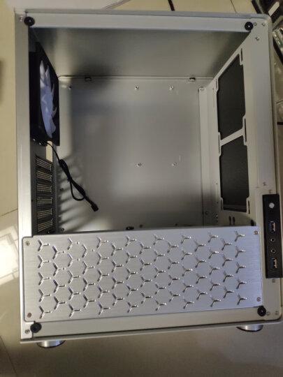 乔思伯(JONSBO)U4 银色 ATX机箱 (支持ATX主板/高塔散热器/ATX电源/全铝外壳/5MM厚度钢化玻璃侧板) 晒单图