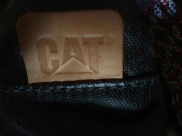 CAT/卡特胸包男商务休闲单肩斜挎包涤纶防泼水多功能潮流户外骑行运动手机腰包 灰色 晒单图