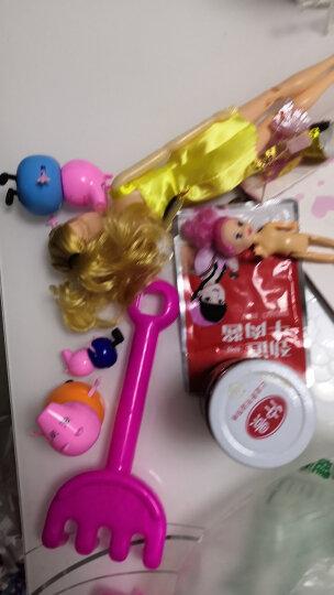 【礼盒套装】娃娃玩具套装大礼盒女孩过家家情景玩具婚纱公主3D美瞳12关节可动妙娃芭比娃娃儿童生日礼物 D10款3D真眼+12关节可动+158件套 晒单图