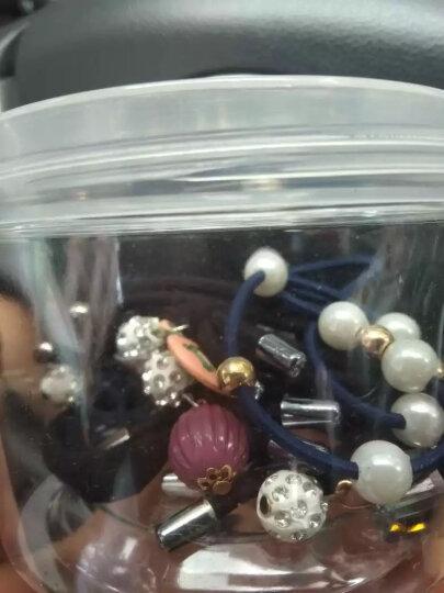 【20件装】发圈扎头发饰橡皮筋发绳头绳头饰品发箍发卡头花发带刘海发夹头饰 D8080-2#气质咖啡色12件套 晒单图
