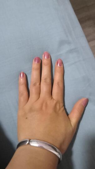 Sivte免烤水性脚指甲油可剥可撕美甲套装透明儿童孕妇无味无毒显白甲油 魅力红 晒单图