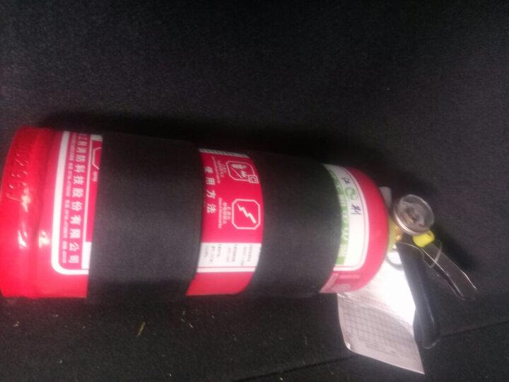 江荆 手提式干粉灭火器4公斤 车载家用及商用灭火器MFZ/ABC4 消防器材 晒单图
