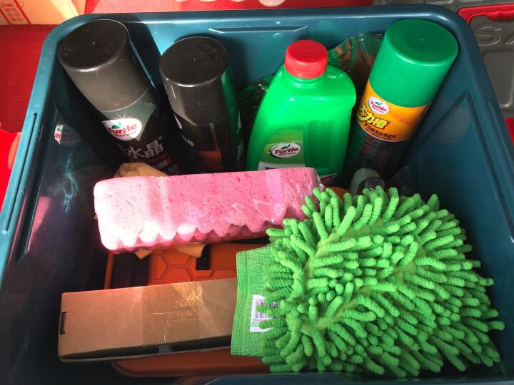 龟牌(Turtle Wax)防冻玻璃水-25℃ 2L*6瓶汽车用品 去油膜去污剂清洗剂雨刷精 冬季四季通用 G-4082-6 晒单图