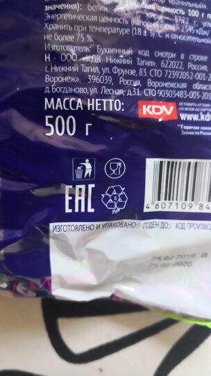 KPOKAHT紫皮糖扁桃仁糖夹心巧克力糖圣诞节糖果俄罗斯进口紫皮糖巧克力散装婚庆喜糖 紫皮糖500g*4袋 晒单图
