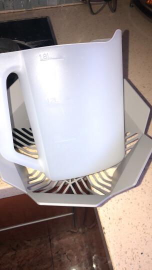 美的(Midea)美的范免安装家用台式除菌洗碗机 M1-香槟金 晒单图