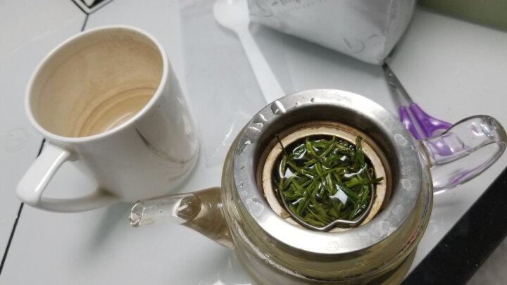 明前安吉白茶2盒共200g礼盒装一杯香茶叶绿茶珍稀黄金白茶2019新茶散装 晒单图