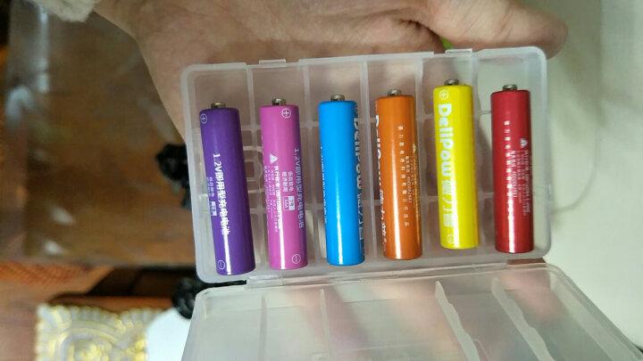 德力普(Delipow) 充电电池 5号/7号电池 配12节电池充电套装 适用玩具遥控器 晒单图