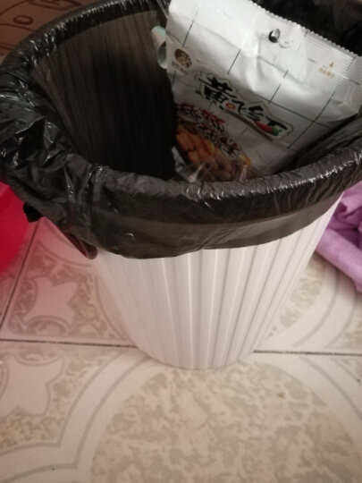 天章办公(TANGO)垃圾桶10L带压圈垃圾篓/清洁桶办公厨房卫生间客厅/中号浅绿色 晒单图