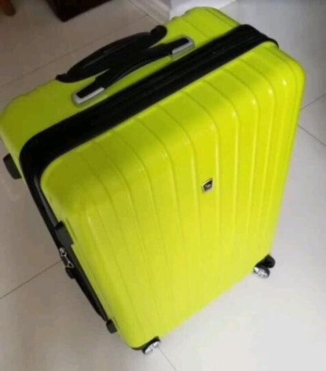 爱华仕(OIWAS)行李箱男女拉杆箱 商务旅行自营6182  密码锁飞机轮 20英寸登机箱绿色 晒单图
