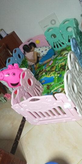 澳贝(AUBY)宝宝游戏围栏婴儿童爬行学步安全护栏室内户外宇宙星空围栏14+2男孩女孩玩具464320DS 晒单图