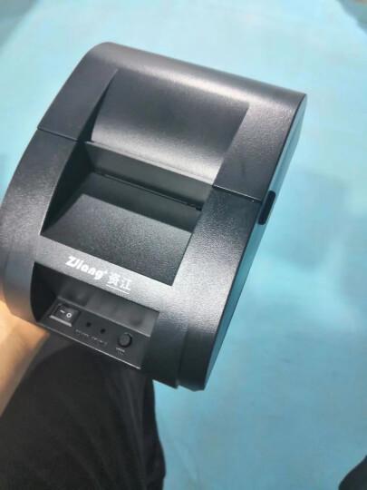 NT-58H热敏打印机58mm小票超市收银USB蓝牙外卖打印机百度美团饿了么自动接单打印机 NT-58H白色 晒单图