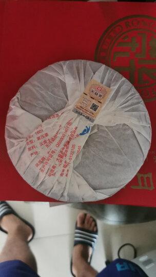 大益普洱茶 茶叶 7572标杆熟茶  357g/饼 随机批次 2013年新版一饼装 晒单图