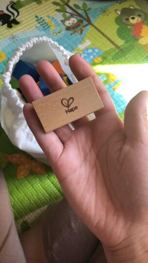 德国(Hape)儿童积木玩具宝宝拼搭益智玩具1-3-6岁125粒城市情景进口榉木男孩女孩生日礼物 1岁+ E8029 晒单图