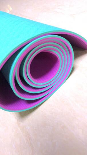 哈他专业瑜伽垫加宽66cm环保TPE瑜珈垫男女双面防滑运动健身垫  柳梢青 晒单图
