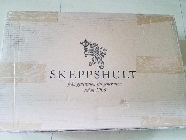 Skeppshult 【瑞典进口】铸铁炒锅物理不粘锅  无油烟炒菜锅32cm 平底无涂层 晒单图