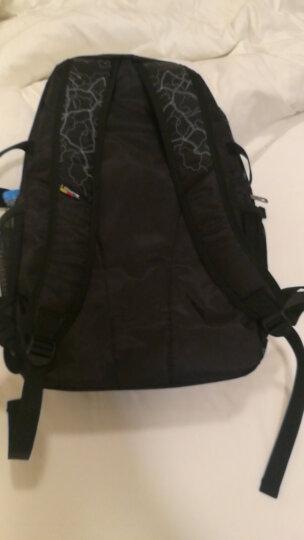 爱华仕(OIWAS)商务自营休闲包 大容量户外男女简约双肩包 4040黑色 晒单图