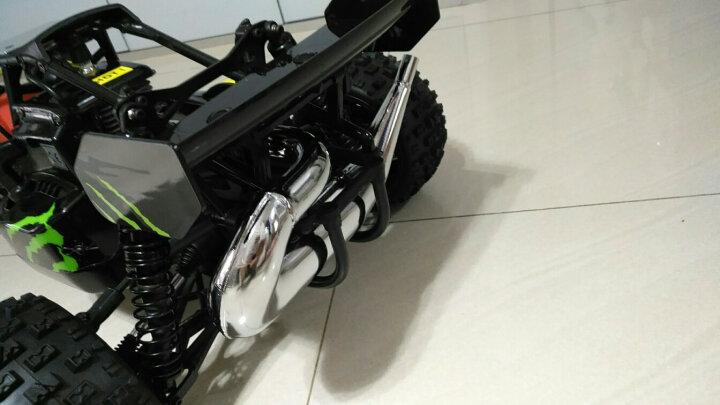1:5大型燃油越野车 2WD汽油遥控车 BAJA 5B 26CC高速烧油车模 油动车 模型高配版 颜色随机发货 晒单图