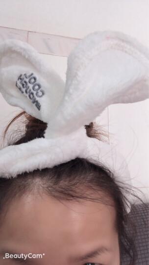 三利 超柔造型束发带 韩版可爱发箍 11×73cm 洗脸化妆包头巾 混色2条装 晒单图