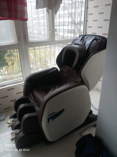 尚铭电器(SminG) 尚铭电器按摩椅SM-750S全身太空舱机械手按摩椅家用 蓝绿色 晒单图
