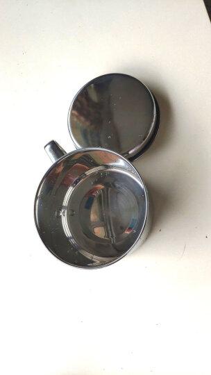 顺达(SND) 304不锈钢饭盒双层快餐杯多格层学生创意可爱便当盒分格餐盒 SDD-7202   14CM赠送勺筷 晒单图